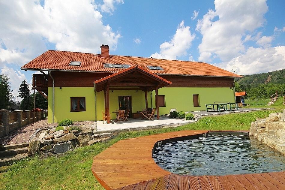 Oldřichov - Plešivec - chata k pronájmu