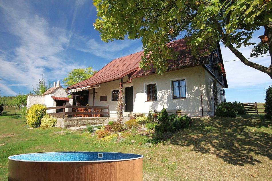 Borovnička - Nové Lesy - chalupa k pronájmu