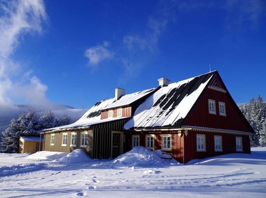 Pec p. Sněžkou - Jelení hora - chalupa nasilvestra k pronájmu