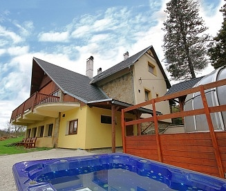 Okrouhlice - wellness chata